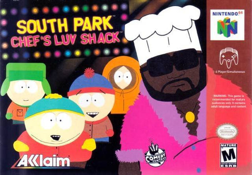 South Park Chefs Luv Shack - Nintendo 64