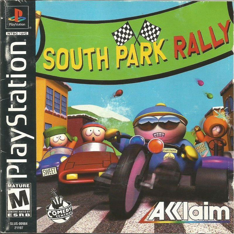 South Park Rally - PlayStation 1