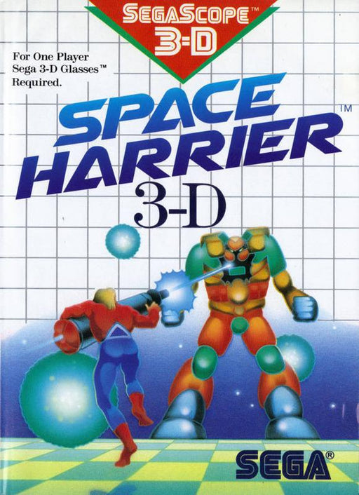 Space Harrier 3-D - Sega Master System