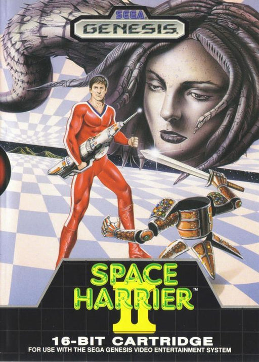 Space Harrier II - Sega Genesis