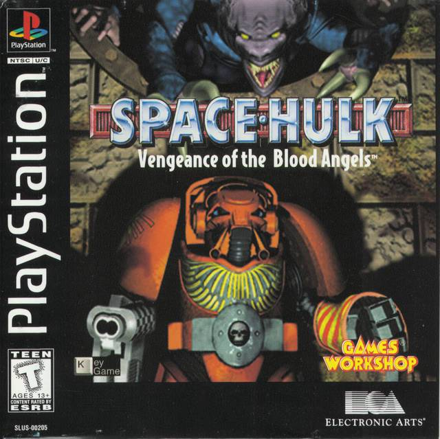 Space Hulk Vengeance of the Blood Angels - PlayStation 1