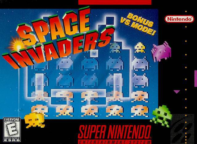Space Invaders - Super Nintendo Entertainment System
