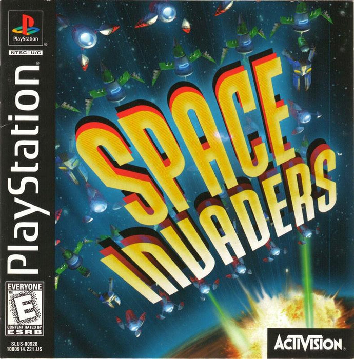 Space Invaders - PlayStation 1