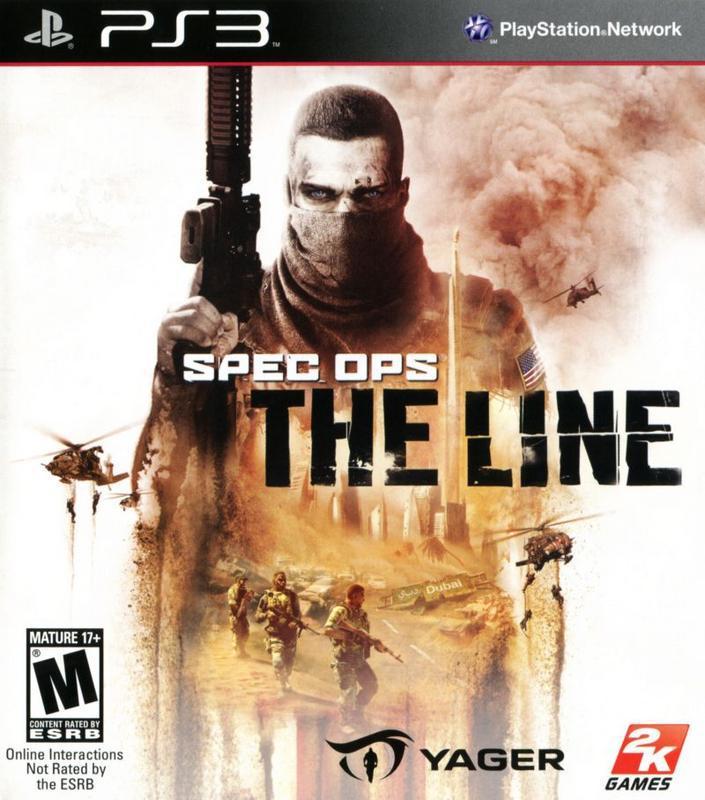 Spec Ops The Line - PlayStation 3