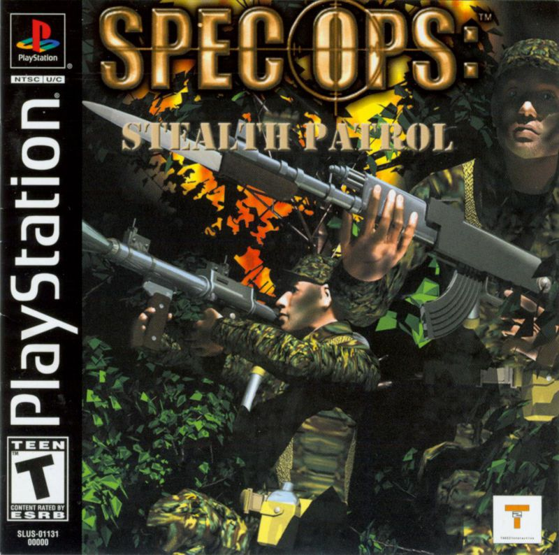 Spec Ops Stealth Patrol - PlayStation 1