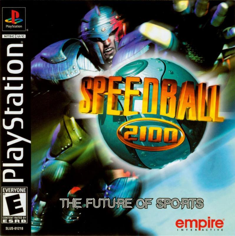 Speedball 2100 - PlayStation 1
