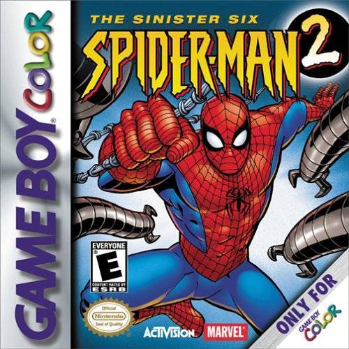 Spider-Man 2 The Sinister Six - Game Boy Color