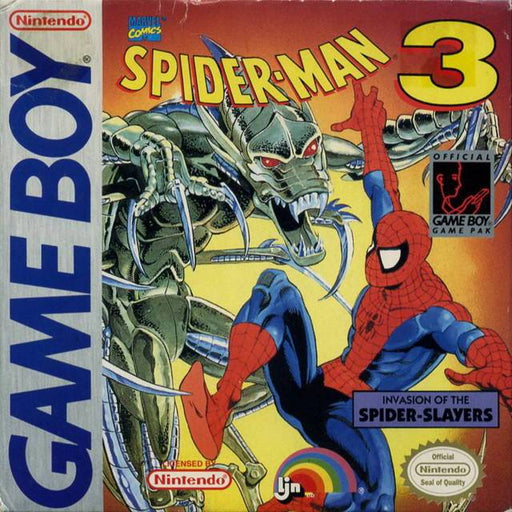 Spider-Man 3 Invasion of the Spider-Slayers - Game Boy