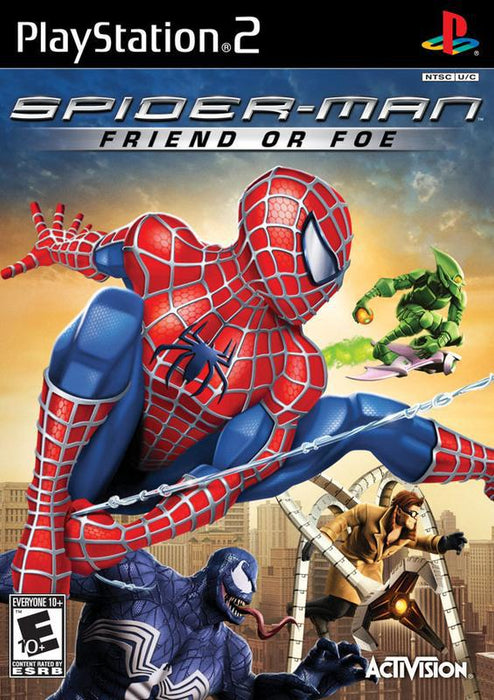 Spider-Man Friend or Foe - PlayStation 2