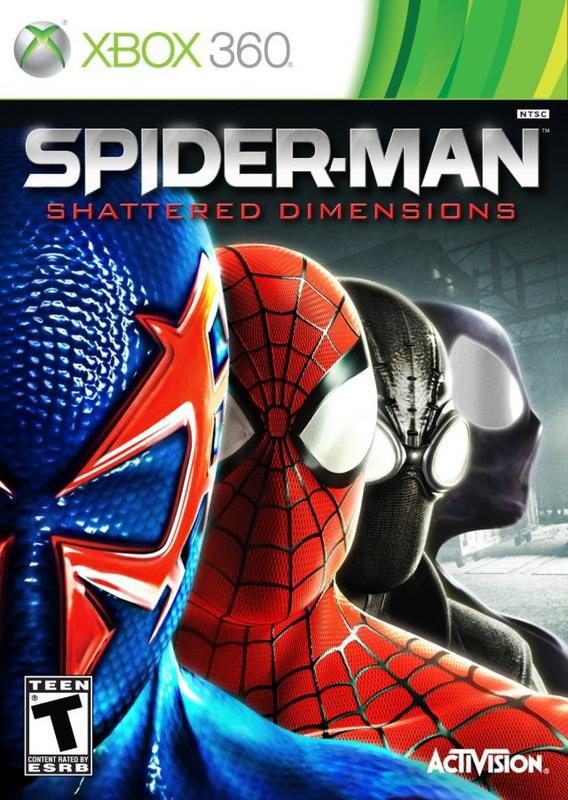 Spider-Man Shattered Dimensions - Xbox 360