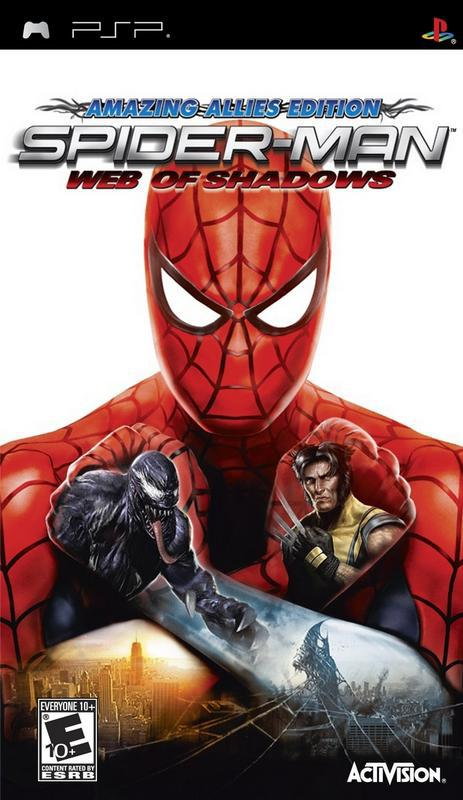 Spider-Man Web of Shadows - PlayStation Portable
