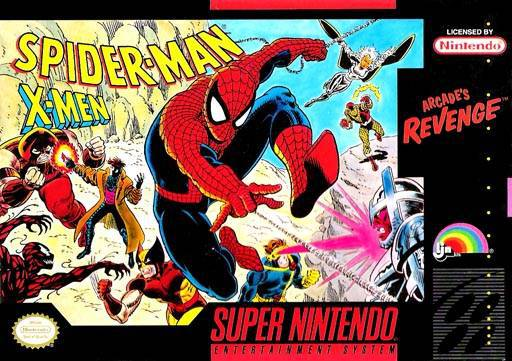Spider-Man X-Men Arcades Revenge - Super Nintendo Entertainment System