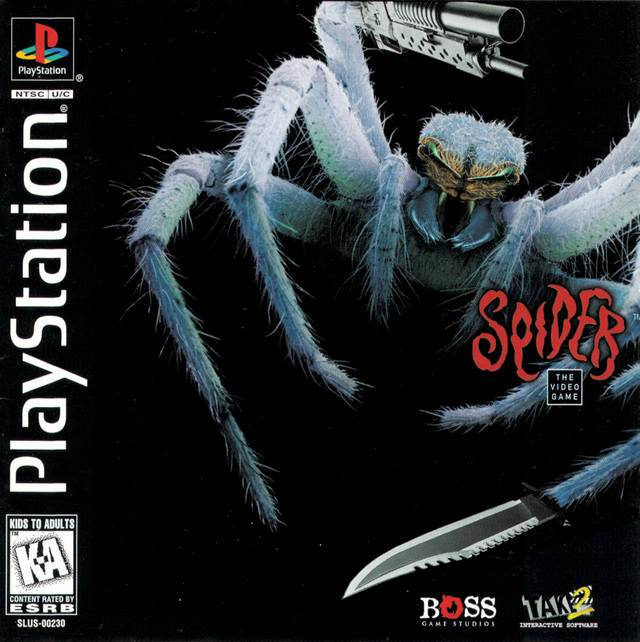 Spider The Video Game - PlayStation 1
