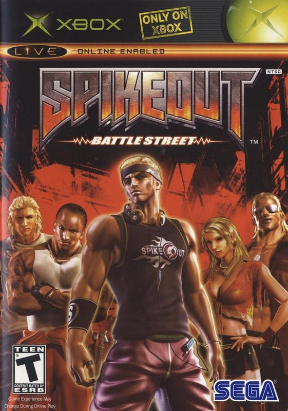 Spikeout Battle Street - Xbox