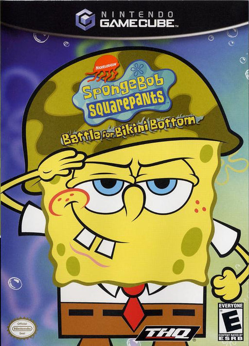 SpongeBob SquarePants Battle for Bikini Bottom - Gamecube