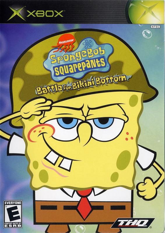 SpongeBob SquarePants Battle for Bikini Bottom - Xbox