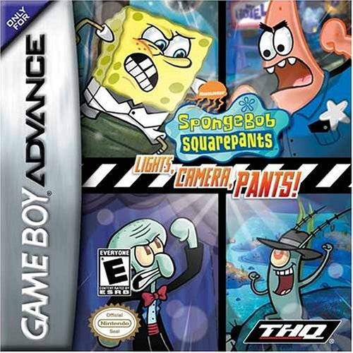 SpongeBob SquarePants Lights Camera Pants! - Game Boy Advance