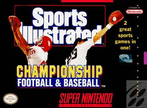 Sports Illustrated Championship Football & Baseball - Super Nintendo Entertainment System