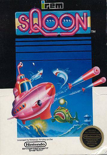 Sqoon - Nintendo Entertainment System