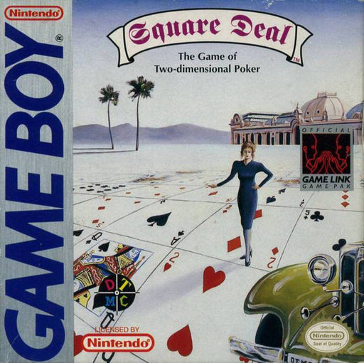 Square Deal The Game of Two Dimensional Poker - Game Boy
