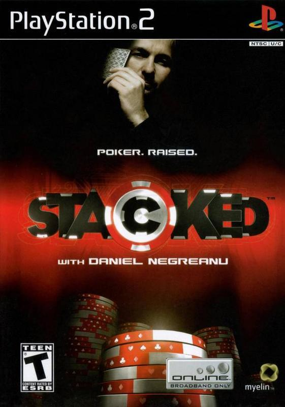 Stacked with Daniel Negreanu - PlayStation 2