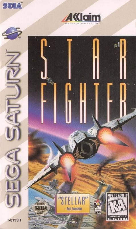Star Fighter - Sega Saturn