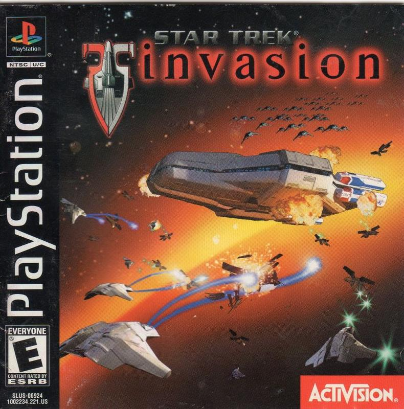 Star Trek Invasion - PlayStation 1