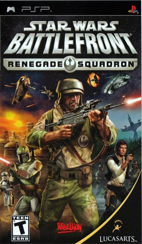 Star Wars Battlefront Renegade Squadron - PlayStation Portable