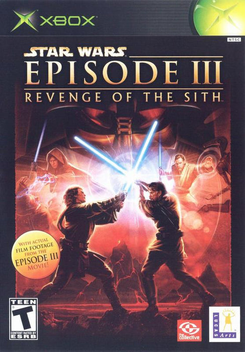 Star Wars Episode III Revenge of the Sith - Xbox