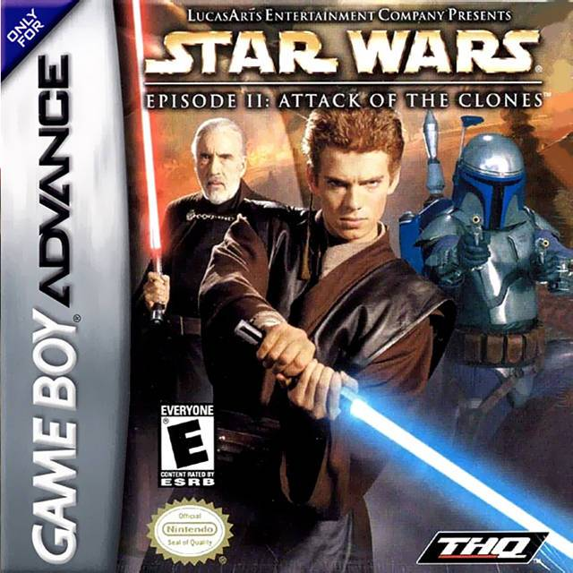 Star Wars Episode II Attack of the Clones - Game Boy Advance