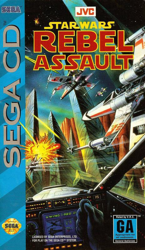 Star Wars Rebel Assault - Sega CD