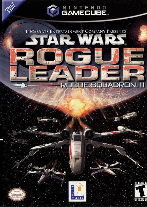 Star Wars Rogue Squadron II Rogue Leader - Gamecube