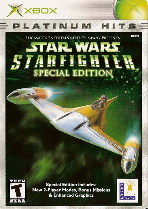 Star Wars Starfighter Special Edition - Xbox