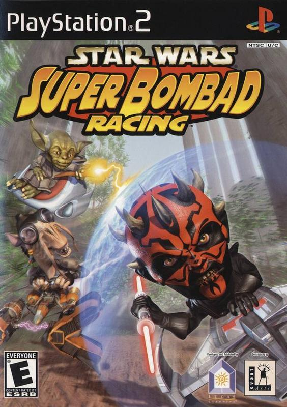 Star Wars Super Bombad Racing - PlayStation 2