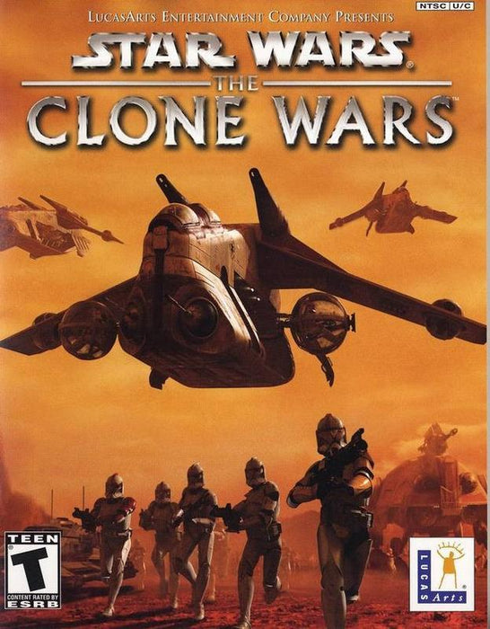 Star Wars The Clone Wars - Gamecube