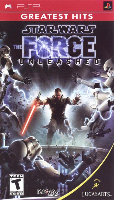 Star Wars The Force Unleashed - PlayStation Portable
