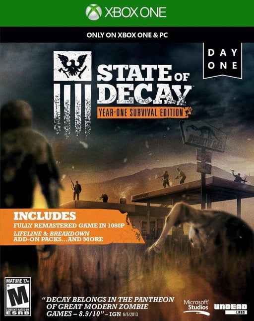 State of Decay Year One Survival Edition - Xbox One
