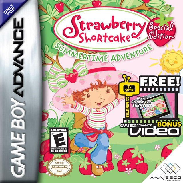 Strawberry Shortcake Summertime Adventure - Game Boy Advance