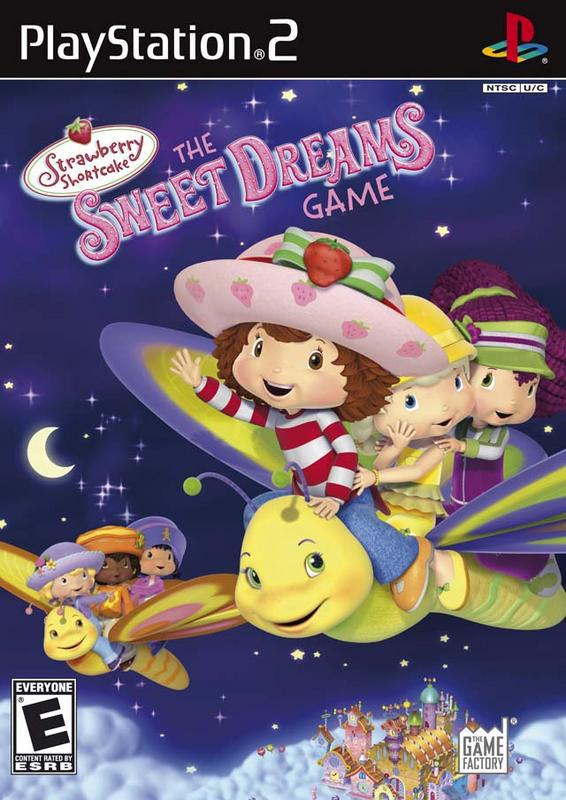 Strawberry Shortcake The Sweet Dreams Game - PlayStation 2