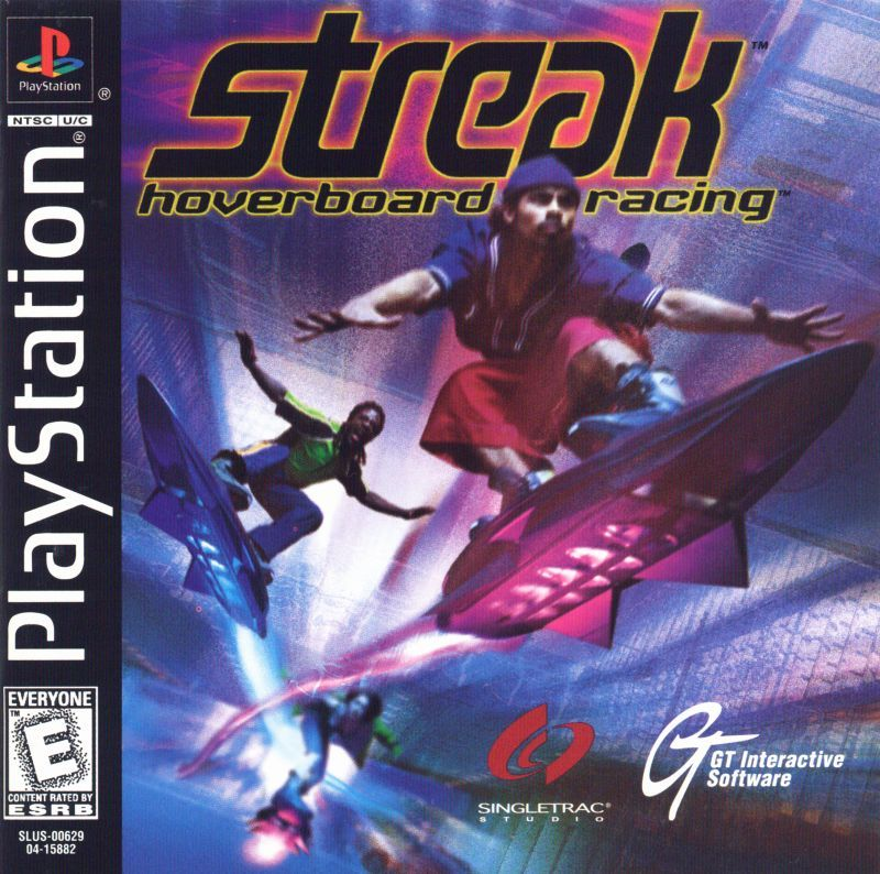 Streak Hoverboard Racing - PlayStation 1