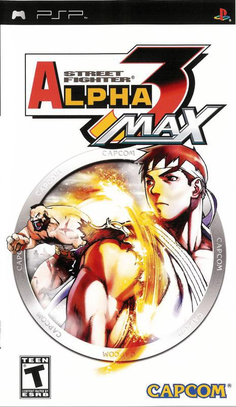 Street Fighter Alpha 3 Max - PlayStation Portable
