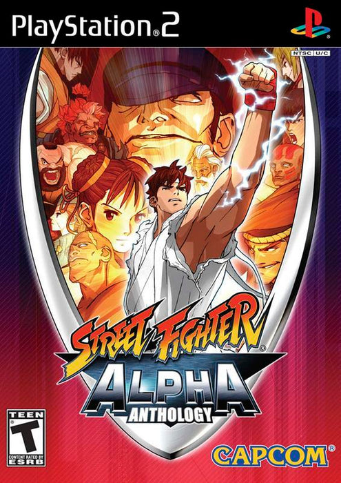 Street Fighter Alpha Anthology - PlayStation 2