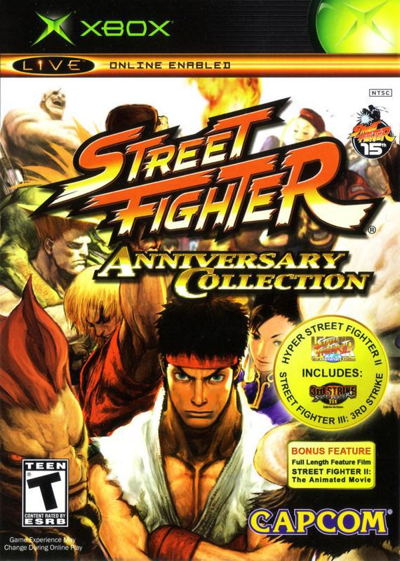 Street Fighter Anniversary Collection - Xbox