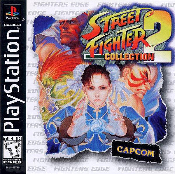 Street Fighter Collection 2 - PlayStation 1