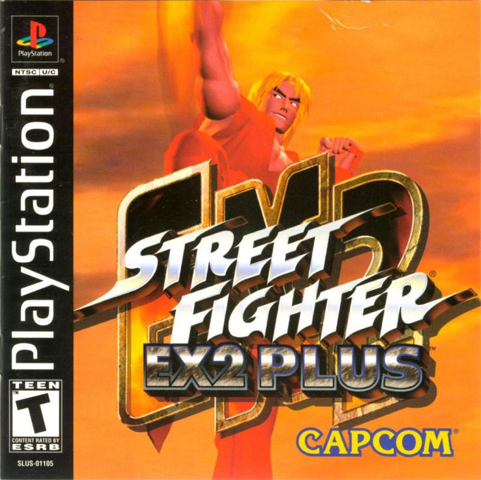 Street Fighter EX2 Plus - PlayStation 1