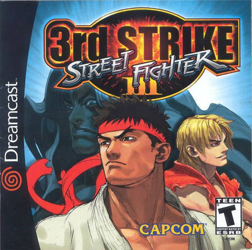 Street Fighter III 3rd Strike - Sega Dreamcast