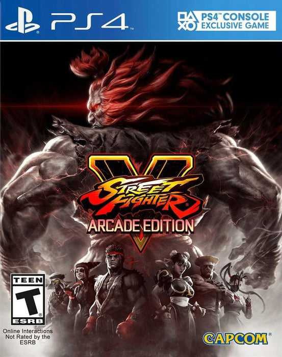 Street Fighter V Arcade Edition - PlayStation 4