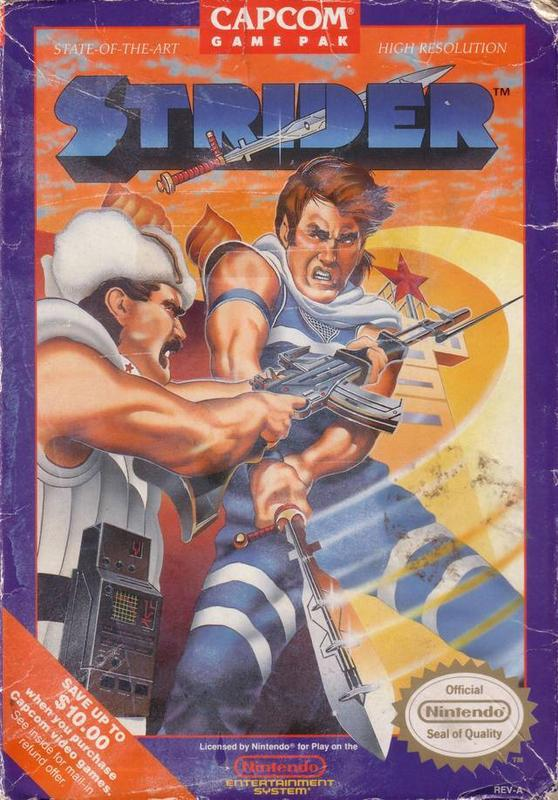 Strider - Nintendo Entertainment System