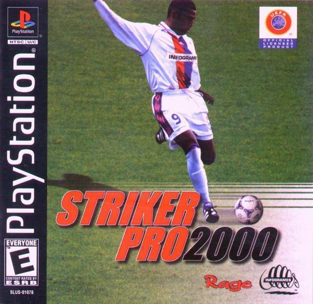 Striker Pro 2000 - PlayStation 1