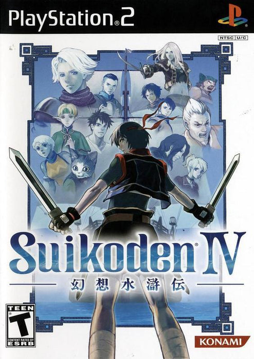 Suikoden IV - PlayStation 2